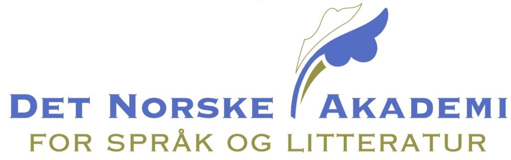 Logo Det Norske Akademi for Språk og Litteratur