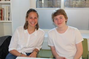 Duoen Janne Graff Nesse og Jógvan Helge Gardar stilte som et lag.